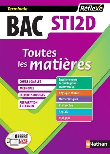 Toutes les matières Bac STI2D (Sciences et Technologies de l'Industrie et du Développement Durable) Tle (13) par Claire Delarocque