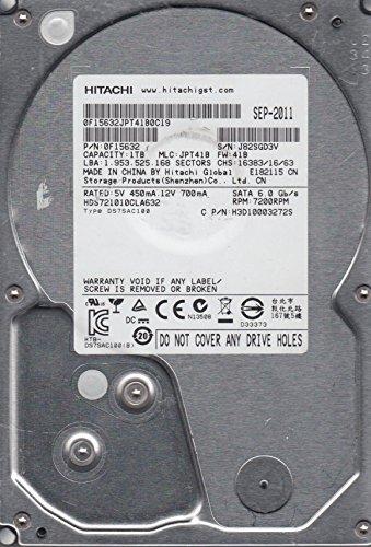 HGST Deskstar 7K1000.C HDS721010CLA632 - Festplatte - 1TB - intern - 8,9 cm (3,5