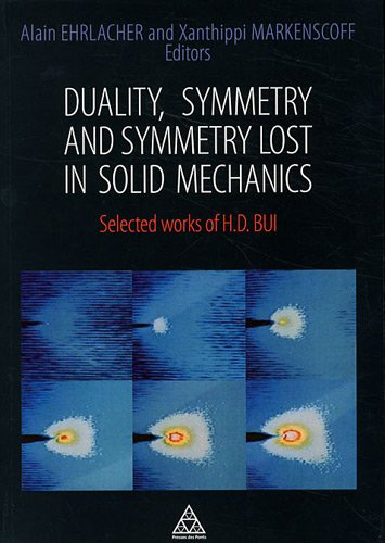 Duality, symmetry and symmetry lost in solid mechanics: Selected works of H.D. BUI.