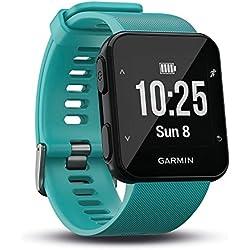 Garmin Forerunner 30 - Reloj de carrera con GPS y sensor de frecuencia cardiaca en la muñeca, Turquesa