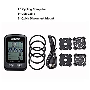 Ciclocomputador con GPS iGPSPORT 20E inalámbrico impermeable Ordenador de bicicleta