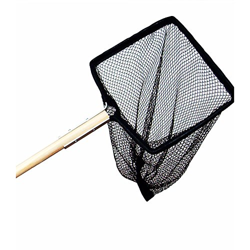 Supa Teichnetz mit Holzgriff (12x10-48 Griff) (Sortiert)