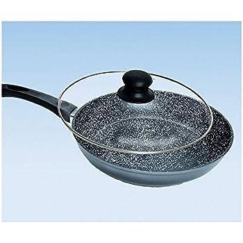 Stonewell Frying Pan With Glass Lid Amazon Co Uk Kitchen