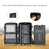"""TOGUARD Trail Game Camera 14MP 1080P Infrared Night Vision Hunting Camera Motion Activated Wild Hunting Cam 120° Detection 0.3s Trigger Speed 2.4"""" LCD Display IP56 Waterproof Bild 7"""