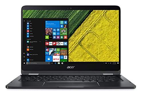 Acer SP714-51-M98D Laptop (Windows 10, 8GB RAM, 256GB HDD) Black Price in India