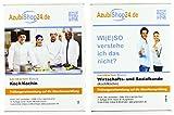 AzubiShop24.de Kombi-Paket Lernkarten Koch / Köchin: Erfolgreiche Prüfungsvorbereitung auf die Abschlussprüfung