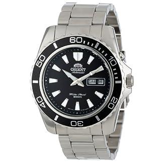 Orient Reloj Analógico para Hombre de Automático con Correa en Acero Inoxidable FEM75001BW