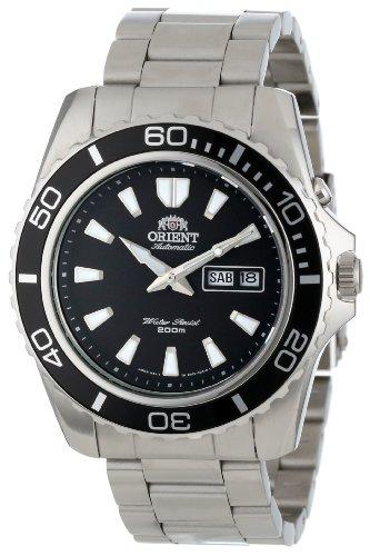 Orient CEM75001B - Orologio da polso uomo, Acciaio inossidabile, colore: argento
