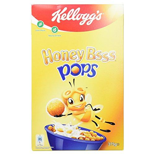 Kellogg's Honey Bsss Pops, 375g (Cornflakes Honig)