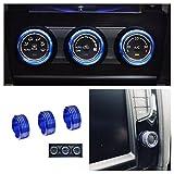 Emblem Trading Radio Klima Heizungsregler Schalter Ringe Passend Für Golf 7 Tiguan 2 Passat B8 Rline GTI GTD R TSI GTE