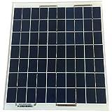 Panneau solaire polycristallin 10W - 12V SANS CADRE - Expédié depuis la France
