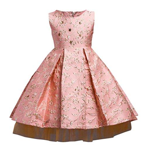 1933544a68233 Manadlian Fille Robe de Princesse Fille