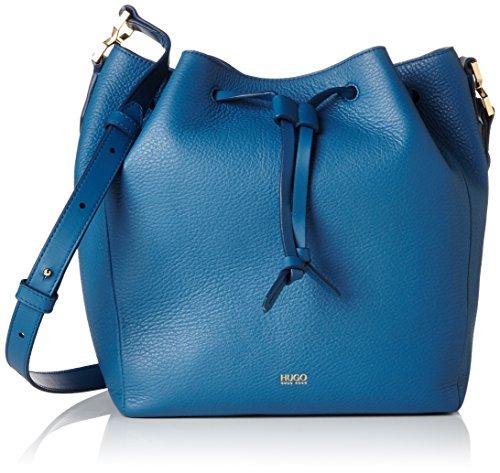 Hugo Gaby-r 10195833 01, Sacs Portés Épaule Femme, Taille Unique Bleu (medium Blue)
