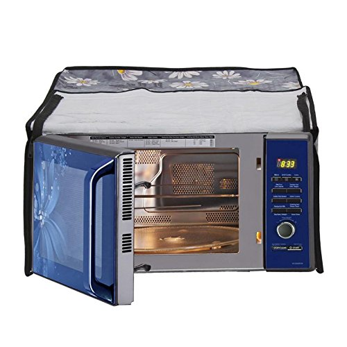Glassiano Printed Microwave Oven Cover for Samsung Grill 20L Model (GW732KD -B/XTL)  available at amazon for Rs.399
