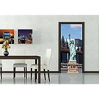 AG Design Diseño AG FTNv2866 papel pintado para pared-partes para pared fotomurales Estatua de la libertad