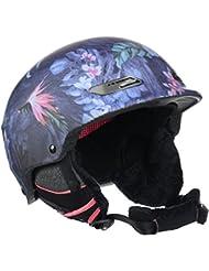 Roxy Power Powder J Helmet - Casco para mujer, invierno, color Rosa/ Azul, talla M (56)