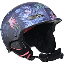 Roxy Power Powder J Helmet - Casco para mujer, invierno, color Rosa/ Azul, talla S (54)