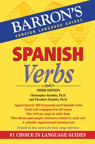 Spanish Verbs (Barrons Foreign Language Guide)