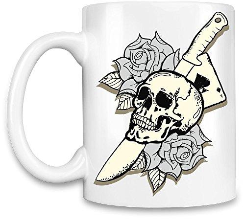 Knife skull Tazzina da caffè