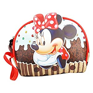 DISNEY Minnie Muffin – Portatodo Para Nina – Con Asa de la Bolsa
