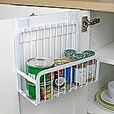 EOAN Steel Door Cabinet Organizer, 9.2x10.5x4.5-inches (White)