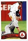 Topps actualisation de 2011 Série Baseball Card #US9 Jose Iglesias RCBoston dans Red Sox