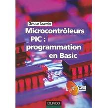 Microcontrôleurs PIC : programmation en Basic (1Cédérom)