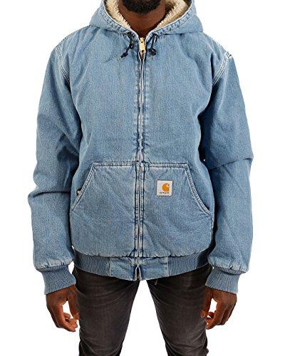 Carhartt Jacke Active Jacket Cotton Blue Stone Washed (M) -