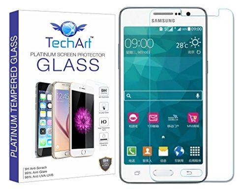 TechArt 9H Hardness Toughened Scratch Proof 2.5D Tempered Glass Screen Protector for Samsung Galaxy Core Prime  available at amazon for Rs.99