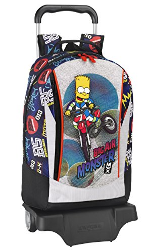 SIMPSONS großen Rucksack mit Rädern - BART BIG AIR MONSTER (Air Simpson)
