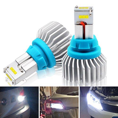 Kashine T15 T16 LED Phares Voiture Ampoules 90W IP65 Etanche pour Auto Lumière de secours Feu arrière Super Bright 6500K lumière Blanche Ampoules High Illuminum CSP Chipsets 9-30V