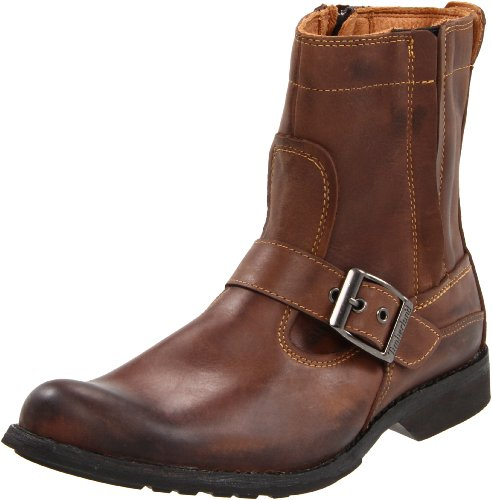 Timberland EKCITY SIDZP BT BROWN FG 73183, Herren Stiefel, Braun (Burnished Brown Full Grain), EU 44.5 (US 10.5) (Full-grain Burnished Brown)