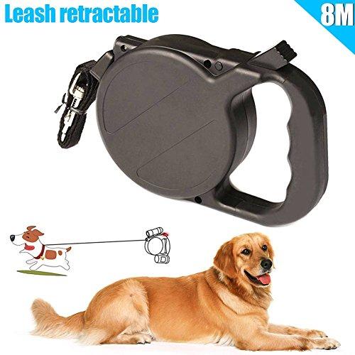 Hundehalsband Leine automatisch versenkbare Puppy Patrol Seil Gehen führt Traction Pet Supplies (8m / 26ft) ()