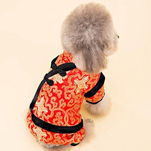 WSS Ricamato cane velluto sotto autunno caldo e nero d'inverno