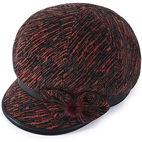 Vecchio cappello/Berretto donna/Cappello ottagonale/Autunno e inverno caldo