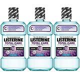Listerine Total Care Sensitive Mundspülung (für schmerzempfindliche Zähne) 3er Pack (3 x 500 ml)