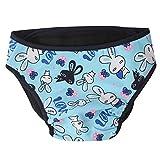CDKJ Stoffwindeln für Hunde Hundewindeln Hunde Taschentücher blau Hase