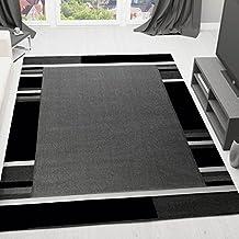 Teppich schwarz weiß grau  Suchergebnis auf Amazon.de für: teppich schwarz weiß gestreift