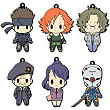 D4 Metal Gear Solid - Rubber Strap Collection Vol.1 (6pcs) (japan import)