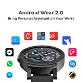 Ticwatch E Shadow most comfortable Smart Watch,1.4 inch OLED Display, Android Wear 2.0,Compatible with iOS and Android, Google Assistant