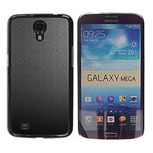 LASTONE PHONE CASE / Hart Hülle Tasche Schutzhülle Cover Shell Für Samsung Galaxy Mega 6.3 I9200 SGH-i527 / Texture Gray