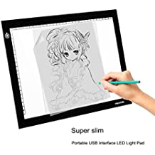 Huion L4S Caja De Luz Para Calcar, Panel LED De Dibujo, LED Light Pad Tableros de Dibujo, Iluminación Ajustable, ideal Para Animacion, Tatoo, Dibuja, Inspección De Rayos X