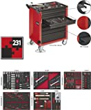 Vigor Werkstattwagen mit 7 Schubladen