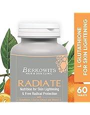 BERKOWITS HAIR & SKIN CLINICS Radiate Nutrition For Skin Li