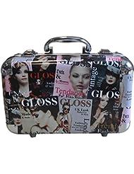 Gloss! Mallette de Maquillage Beauty Tendance Colore 62 Pièces, Coffret Cadeau-Coffret Maquillage