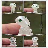 Generic 5 Teile/Los Prinzessin Mononoke Leuchtende Baum Elfen Geist Kodama Garten Topf Dekoration Micro Landschaft ZubehÃr