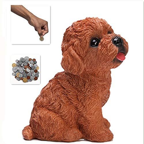 QYL Hund Sparschwein Cute Teddy Design Geld Bank Spardose Spardose Für Kinder Spielzeug Geschenk -