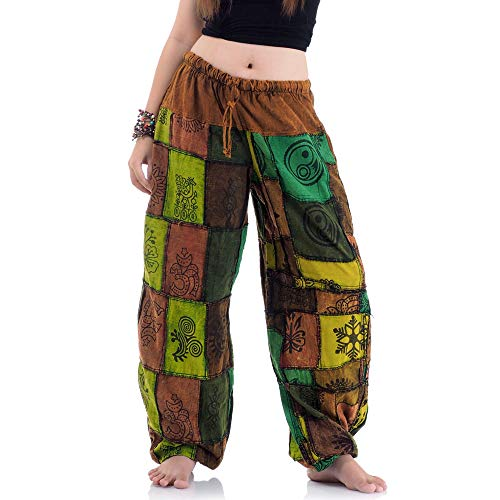Princess of Asia Jeans Patchwork Hippie Hose Haremshose -