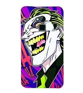 Smiley Fun Joker 3D Hard Polycarbonate Designer Back Case Cover for HTC One Max