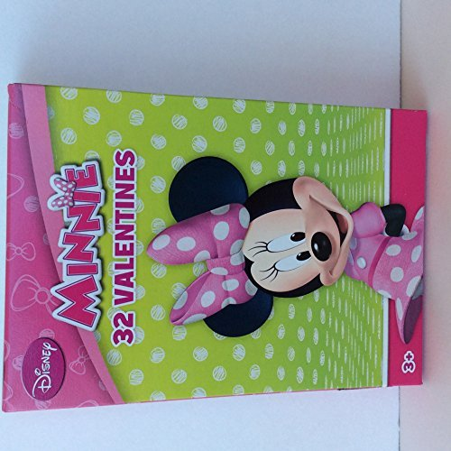 Paper Magic 32CT Showcase Minnie's Bowtique Kids Classroom Valentine Exchange Cards by Paper Magic